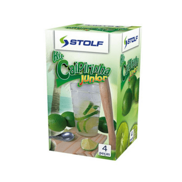 kit caipirinha stolf junior 4 pecas