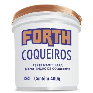 fertilizante forth coqueiros 400 gramas
