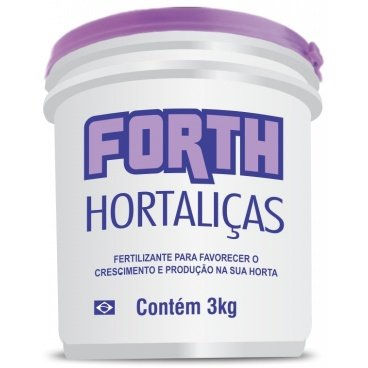 fertilizante farelado forth h 3kg