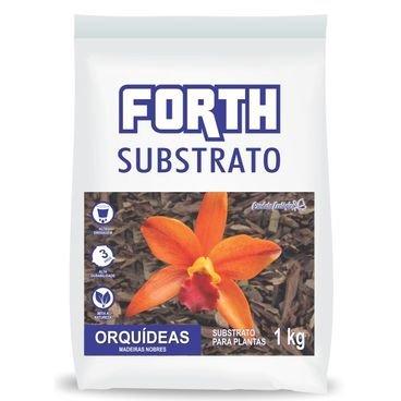 substrato orquidea 1kg forth madeiras nobres