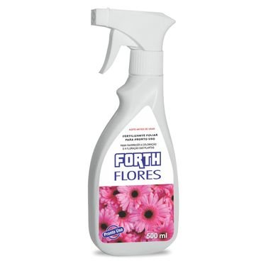 fertilizante liquido flores forth 500ml pronto uso