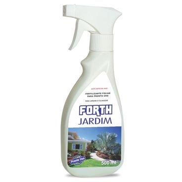 fertilizante liquido jardim forth 500ml pronto uso