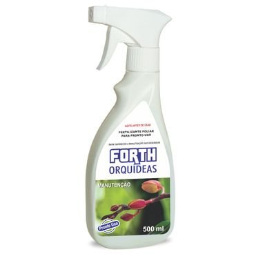 fertilizante liquido orquidea forth 500ml pronto uso manutencao