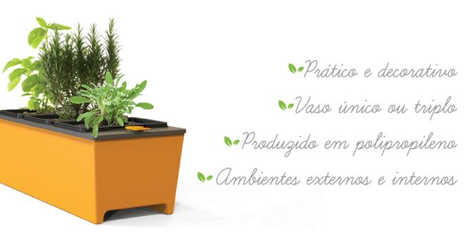 vantagens vaso auto irrigavel cultive
