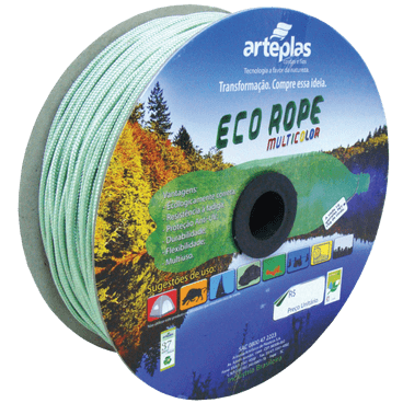 corda ecorope colorida poliester arteplas 6mm