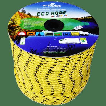 corda ecorope colorida poliester arteplas 8mm