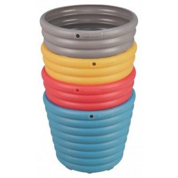 conjunto cachepos vasos mimmo 1,7l tramontina plastico ecologico