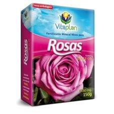 fertilizante adubo para rosas 08 12 10 mineral misto