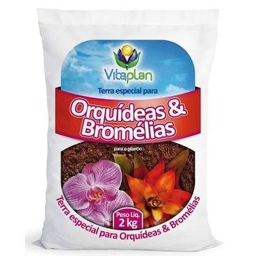 terra especial para orquideas bromelias vitaplan