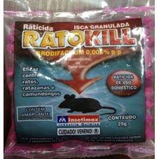 raticida granulado rosa insetimax ratokill