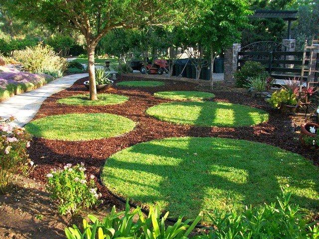 gramado pequenas areas canto aparar trapp pagina jardim