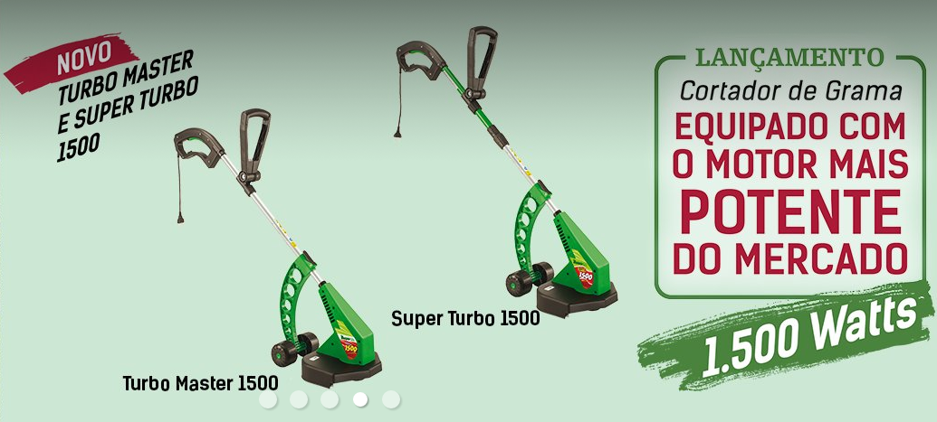aparadores master turbo trapp motor potente mercado