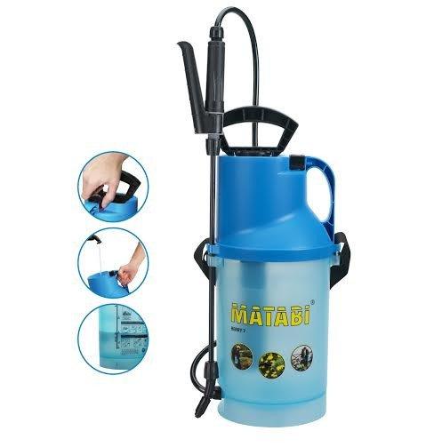 pulverizadores matabi pressao spray jardim flor 5 e 7 litros uso