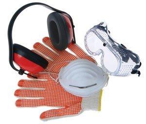 epi luva oculos protecao seguranca ferramentas eletricas