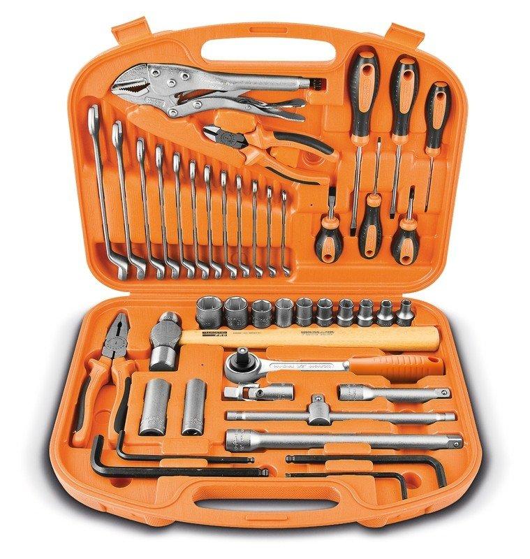 jogo ferramentas maleta tramontina profissional 43 pecas