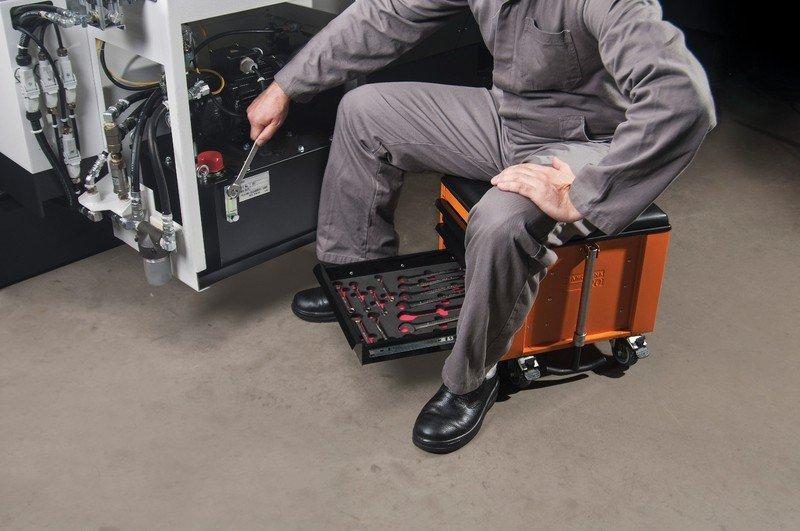 caixa cargobox confort 60 pecas tramontina linha profissional jogo ferramentas aplicacao