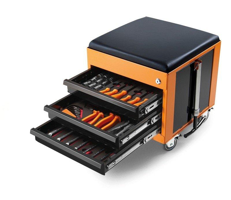 caixa cargobox confort 60 pecas tramontina linha profissional jogo ferramentas gavetas