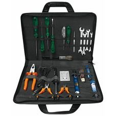 maleta com ferramentas para eletronica 20 pecas tramontina