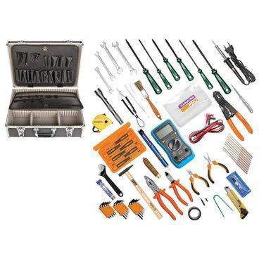 maleta com ferramentas eletronica informatica profissional tramontina 60 pecas