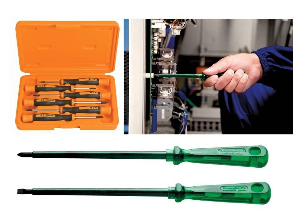 maleta com ferramentas eletronica informatica profissional tramontina 60 pecas chaves fenda