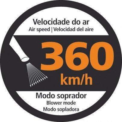 soprador aspirador eletrico sae1200 tramontina alta velocidade
