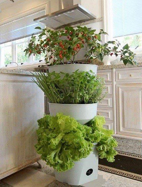 horta vertical vaso auto irrigavel grande sem rodizio