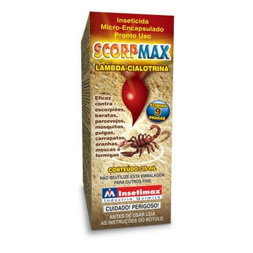 scorpmax veneno para escorpiao pronto uso spray insetimax