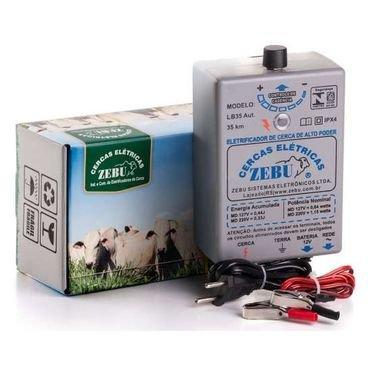 eletrificador de cerca de alto poder lb35 zebu automatico