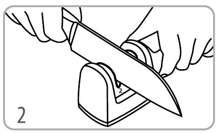 afiafor de facas diamantado tramontina manual