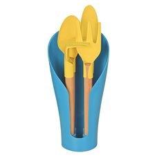 kit utensilios para vaso coccon tramontina azul pecas embalagem