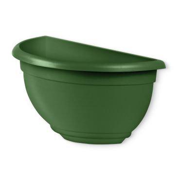 vaso de parede medio verde