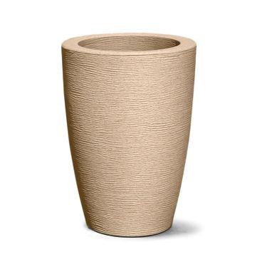 vaso grafiato conico 38 areia