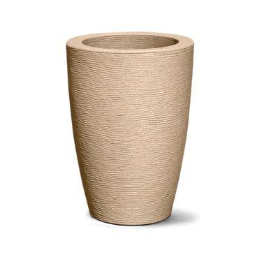 vaso grafiato conico 48 areia
