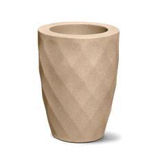 vaso safira conico 40 areia