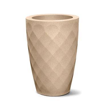 vaso safira conico 55 areia