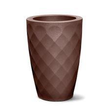 vaso safira conico 55 tabaco