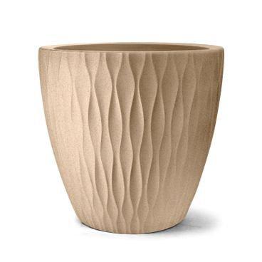 vaso infinity redondo 37 areia