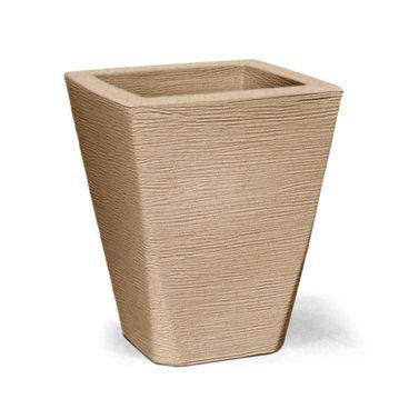 vaso grafiato trapezio 43 areia