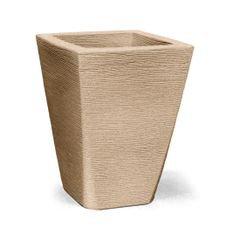 vaso grafiato trapezio 50 areia