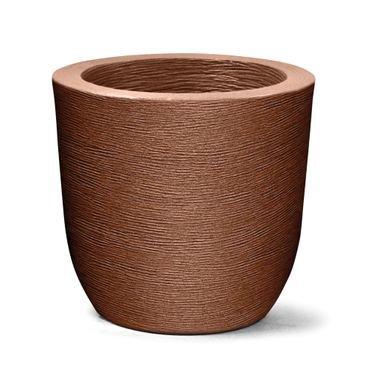 vaso grafiato redondo 40= ferrugem