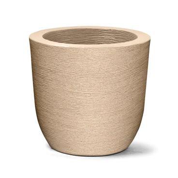 vaso grafiato redondo 40 areia