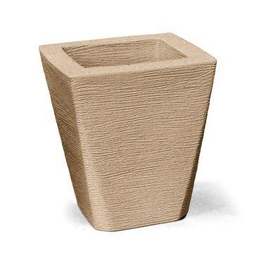 vaso grafiato trapezio 35 areia