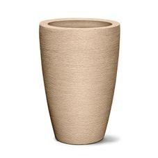 vaso grafiato conico 65 areia