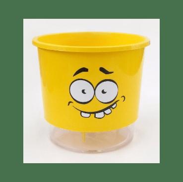 vaso auto irrigavel raiz calekolos amarelo n2 abobado