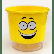 vaso auto irrigavel raiz calekolos amarelo n2 felizardo