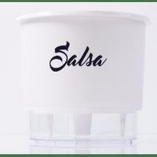 vaso auto irrigavel raiz gourmet branco salsa