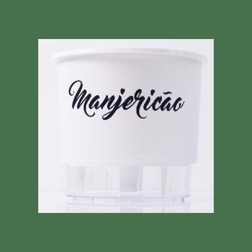 vaso auto irrigavel raiz gourmet manjericao branco