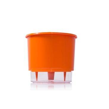 vaso auto irrigavel raiz laranja