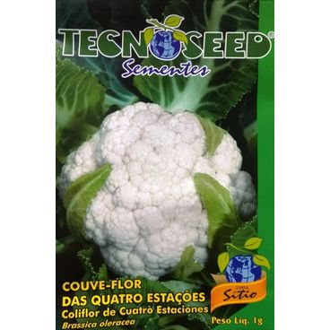 semente couve flor quatro estacoes tecnoseed