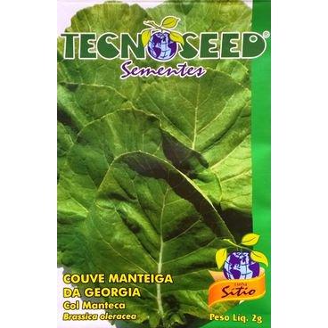 semente couve manteiga georgia tecnosed